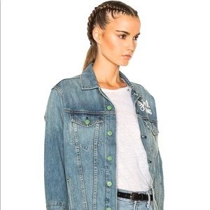 Sandrine Rose Women's Trouble Maker Denim Jacket